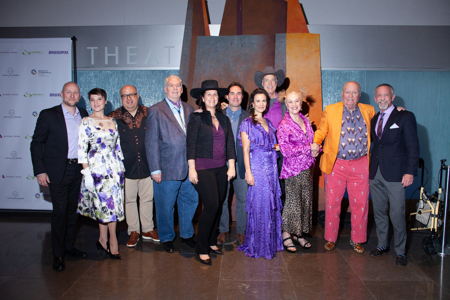 "The artistic team for the opera ""Riders of the Purple Sage"" and producers of the documentary film ""Riders of the Purple Sage: The Making of a Western Opera."""