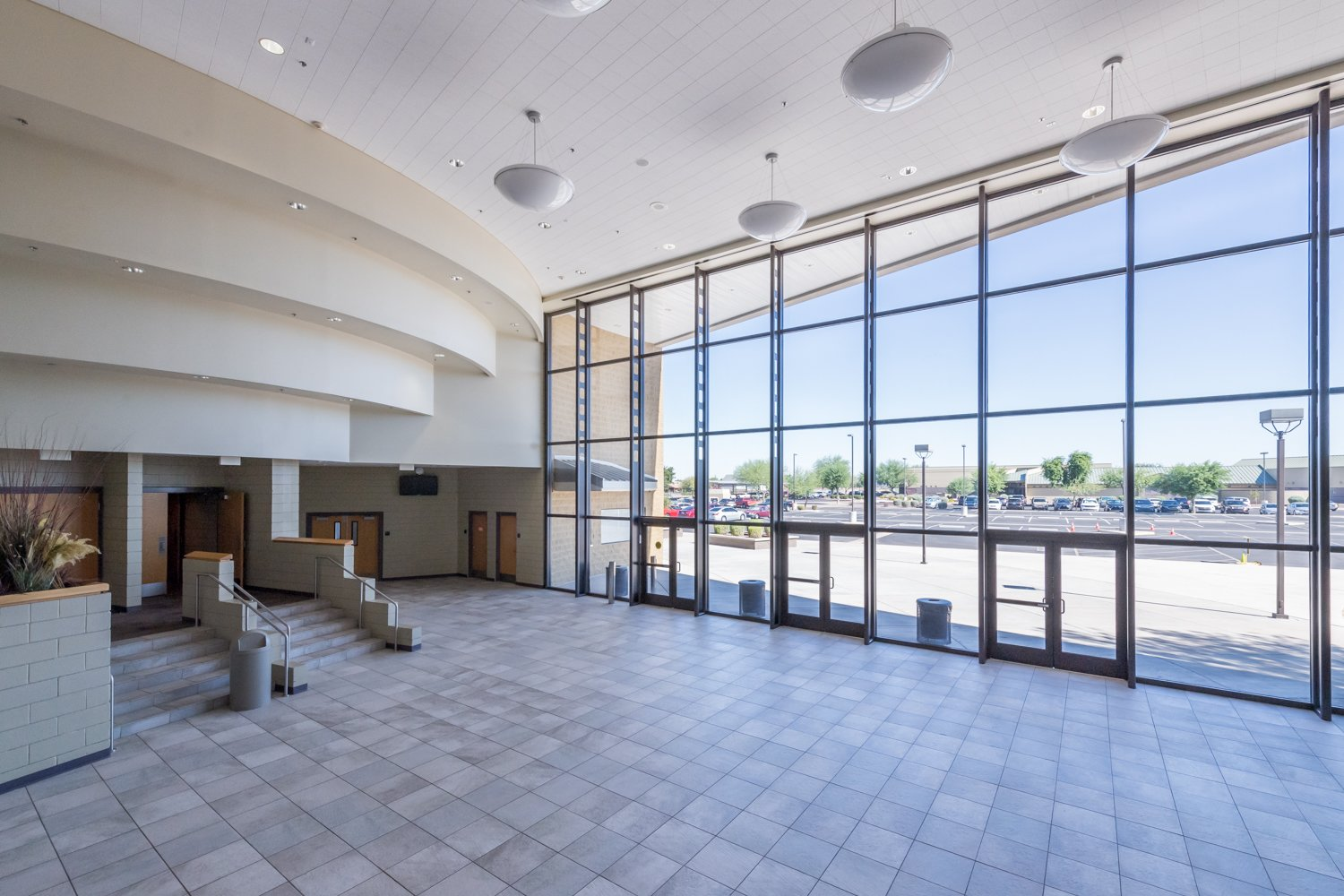 The concourse of The Vista now has open box office hours to sell