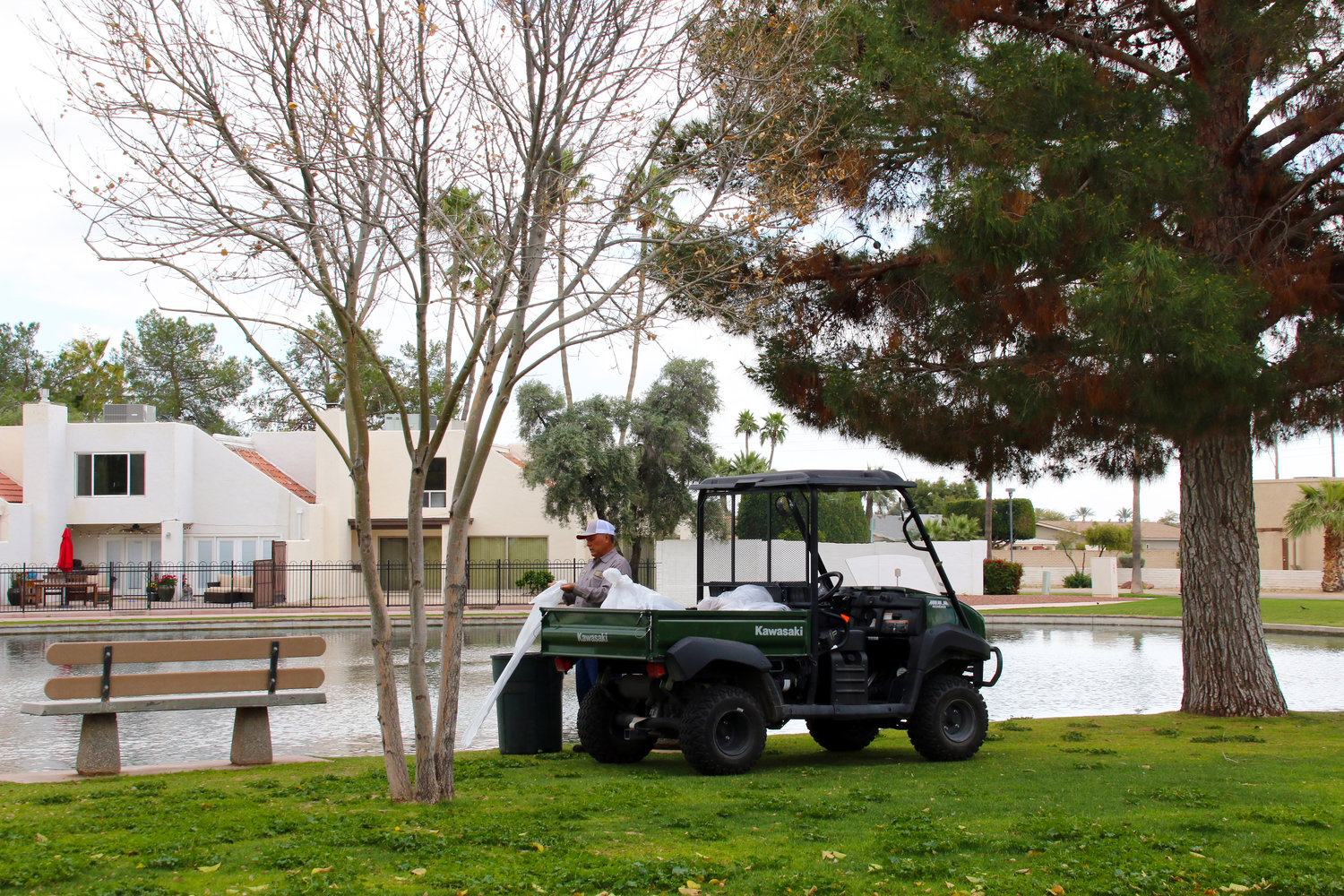 Maintenance of city parks, like Tierra Verde Lake Park on Old Litchfield Road, is included in the city's general fund budget, which relies heavily on population-based revenue allocations from the state.