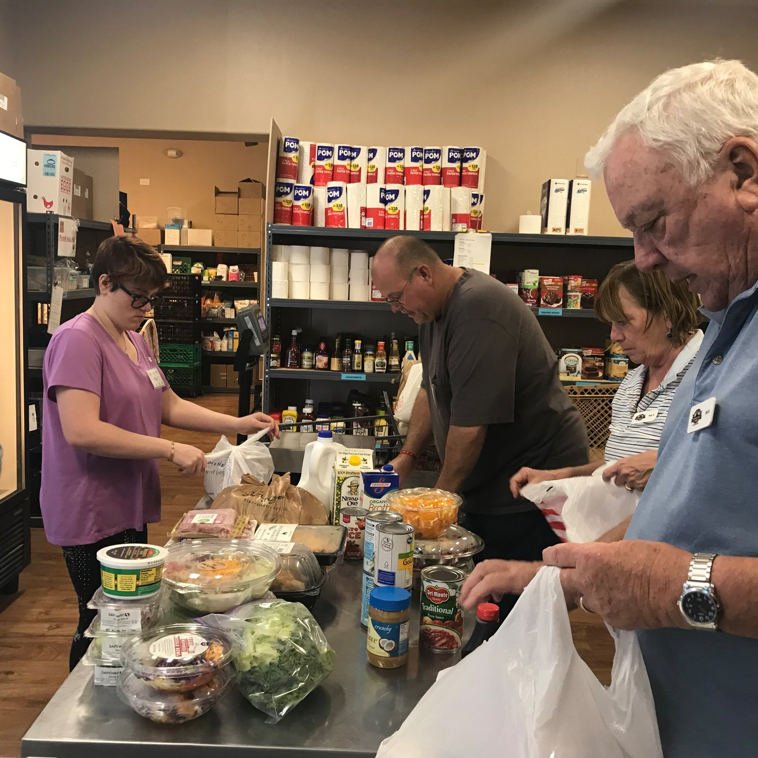 The Foothills Food Bank & Resource Center at 34501 Old Black Canyon Highway in Black Canyon City.