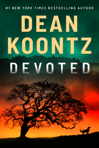 "This cover image released by Thomas & Mercer shows ""Devoted"" by Dean Koontz. (Thomas & Mercer via AP)"