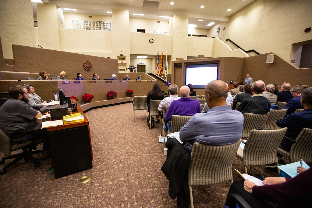 The Scottsdale City Council hosted a Truth in Taxation hearing as the city prepares to approve a property tax levy.