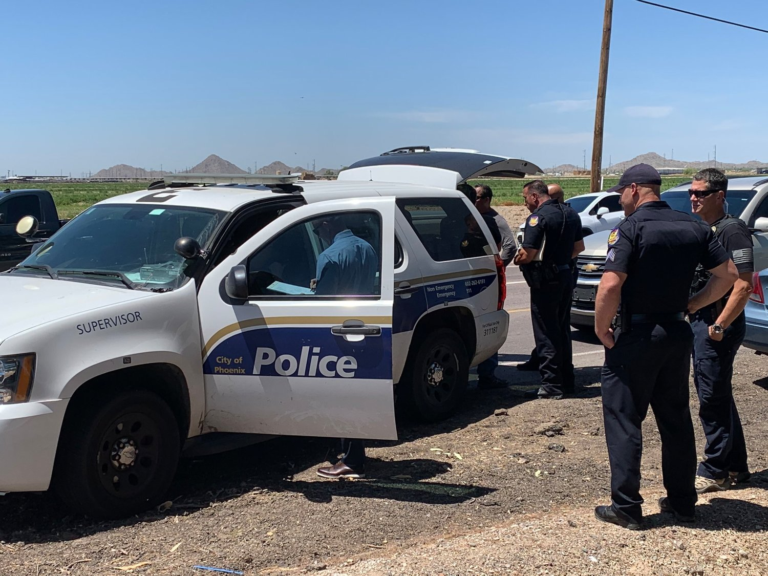 Phoenix police shot and injured a stolen vehicle suspect in Buckeye on April 28, 2020.