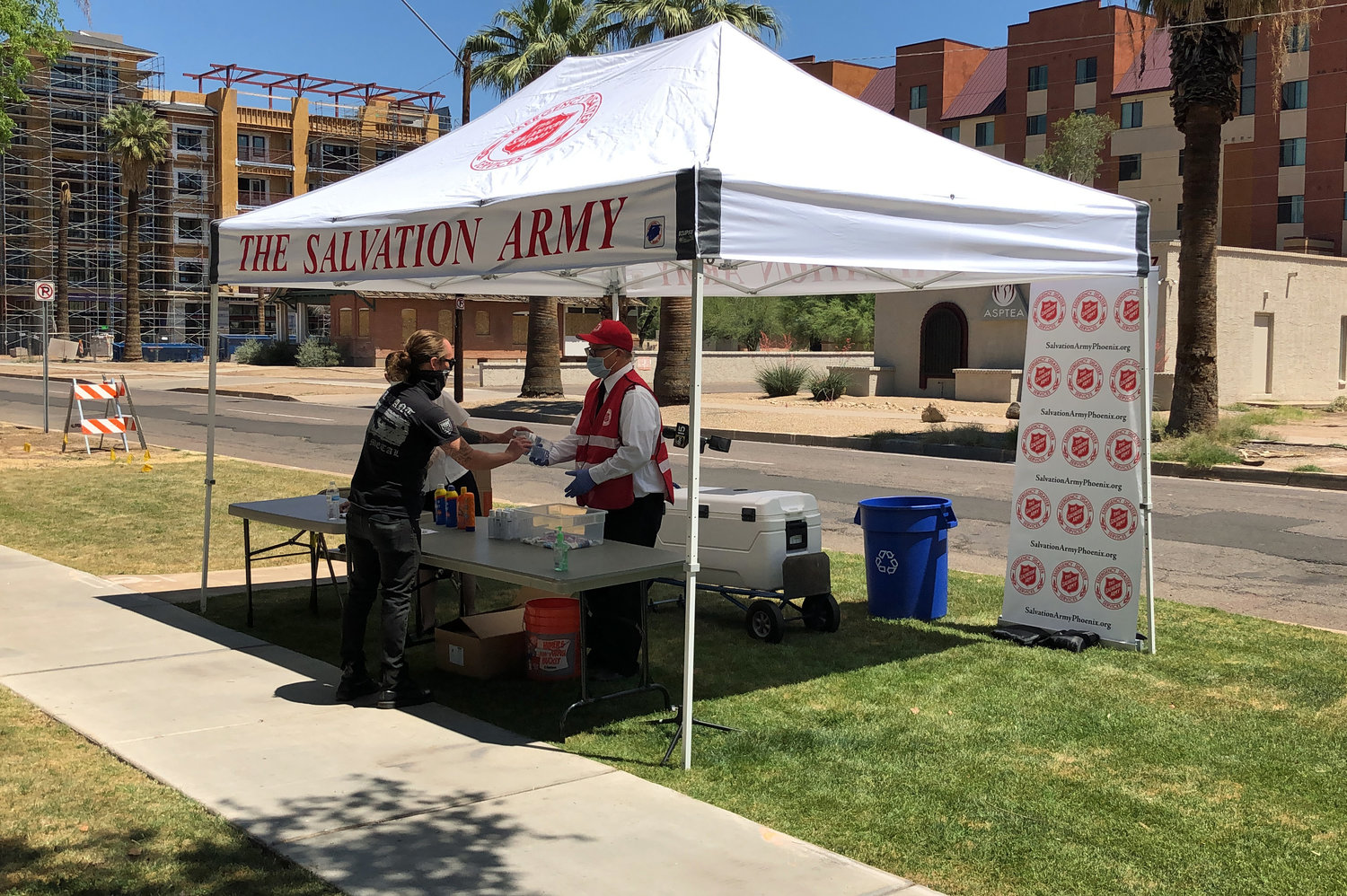 To maximize safety, The Salvation Army's heat relief efforts follow current recommended COVID-19 guidelines from local, state and federal health officials.