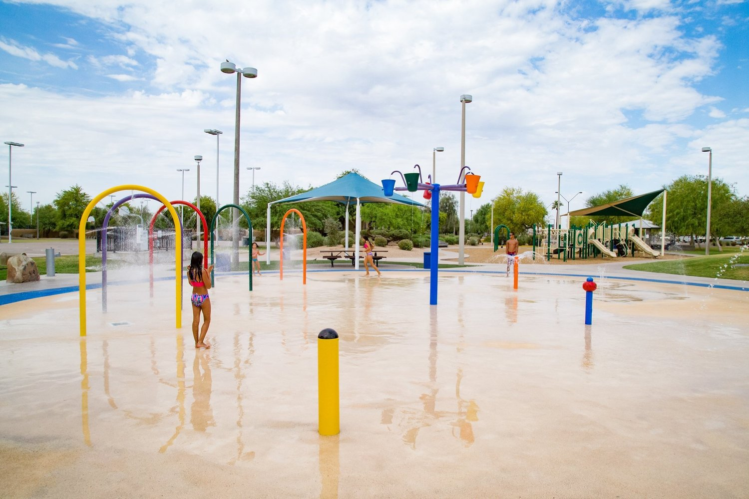 Arizona cities depend on population-based shared state revenues for things like development and maintenance of facilities like Goodyear's Splash Park, recreation programming, police and fire services, and street repairs and maintenance, among others.
