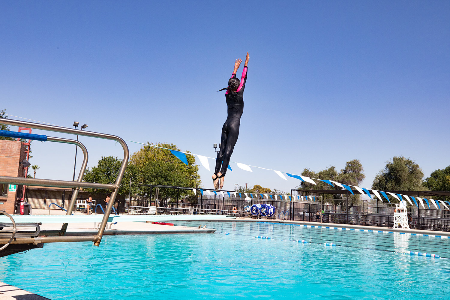 Goodyear's community pool is scheduled to reopen Saturday, May 23 along with the city's splash pad and skate park.