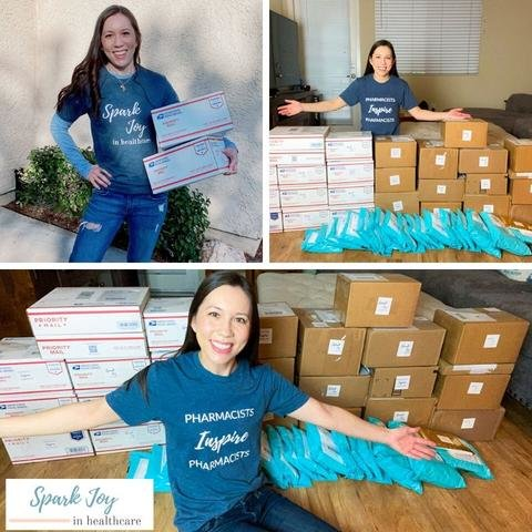 Arizona-based WellRx has assisted Dr. Jessica Louie, pharmacist, with delivering more than 1,200 care packages to pharmacists countrywide.