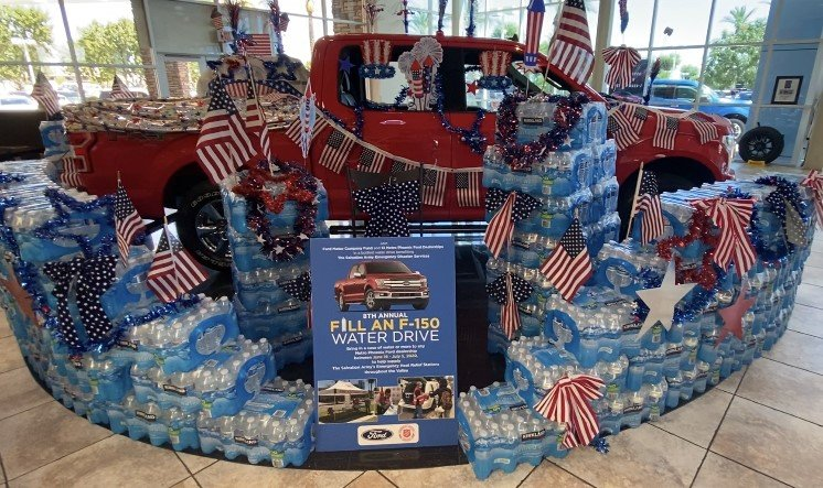 ford dealers partner with salvation army for water drive your valley salvation army for water drive