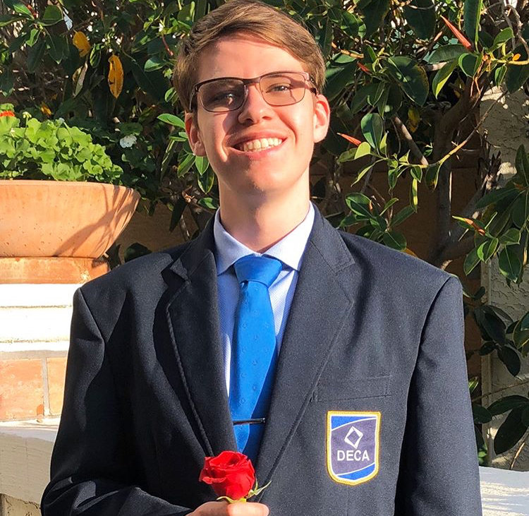Liam Nelson will represent Mountain Ridge as a DECA state officer.