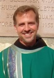 Arriving for ministry is Fr. Daniel Barica, OFM, as the new rector of Our Lady of the Angels Church.