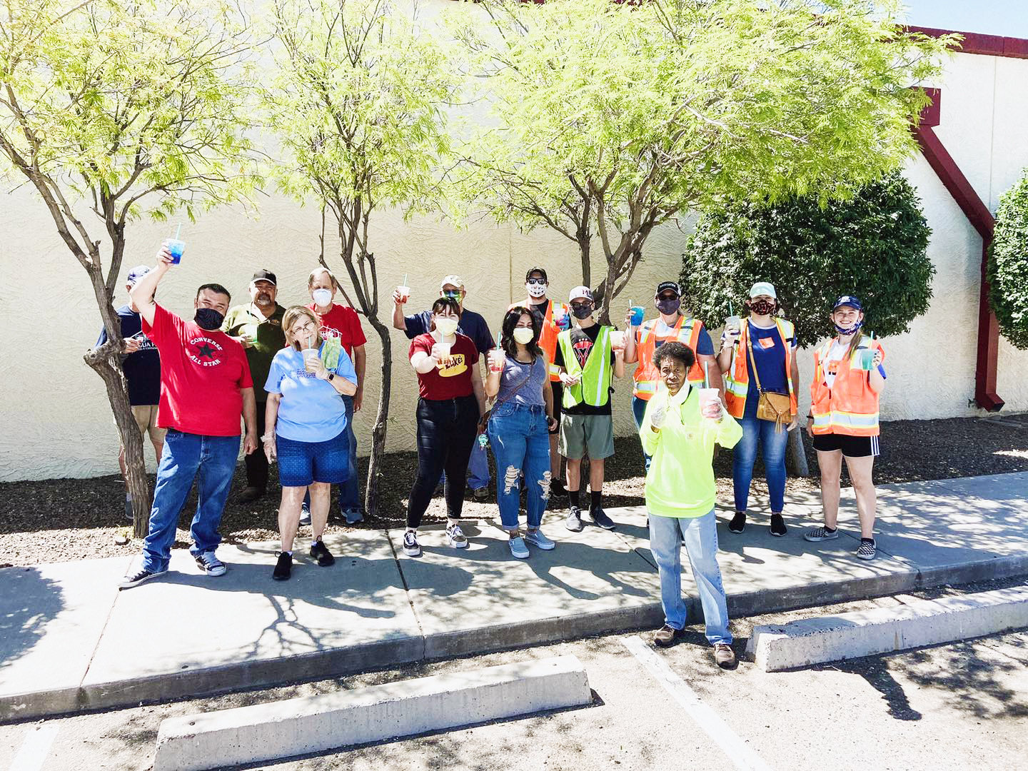 "Agua Fria Food and Clothing Bank, one of the agencies receiving a grant from the city of Goodyear, gave a Facebook shout-out July 6 to its volunteers, who serve no matter how hot the weather gets. ""There's no way we could possibly serve our neighbors without YOU,"" food bank officials said."