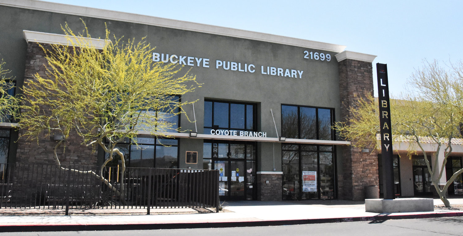 The Buckeye Coyote Branch Library is located at 21699 W. Yuma Road.