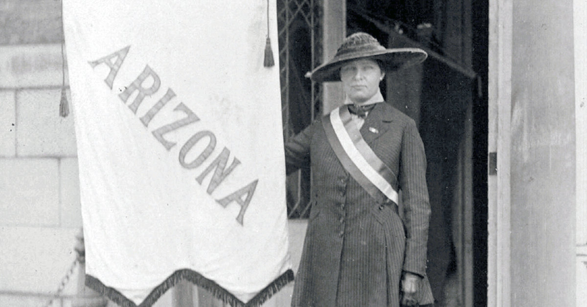 This year marks the 100th anniversary of passage of the 19th Amendment giving women the right to vote nationally. Celebrate Women's Equality Day with Journal of Arizona History Authors at 6 p.m. Wednesday, Aug. 26 will explore the suffrage movement in the state.