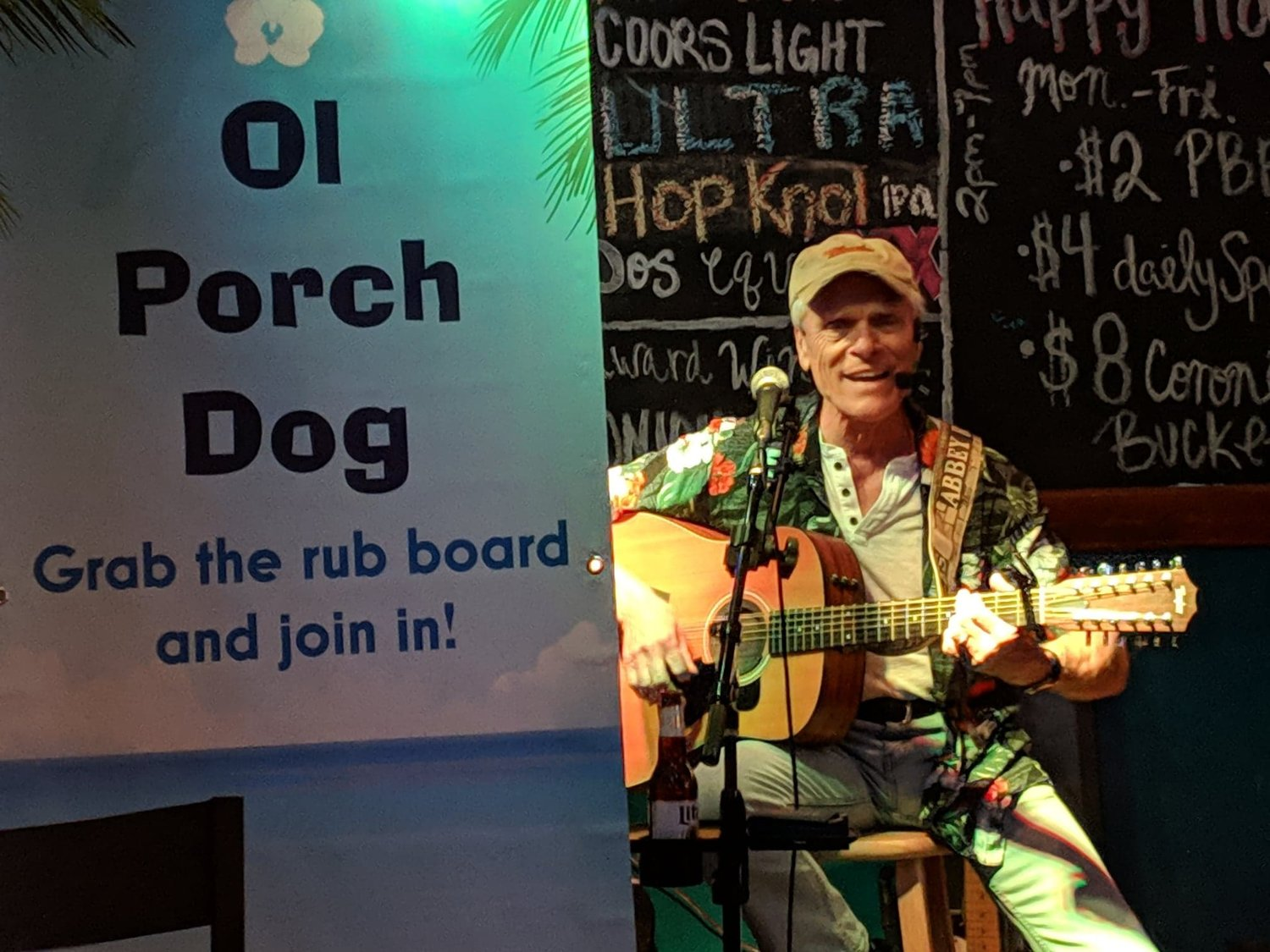 "Ol Porch Dog will be doing his ""Back To The Beach"" show at I and J Fountain Restaurant in Surprise Aug. 21."