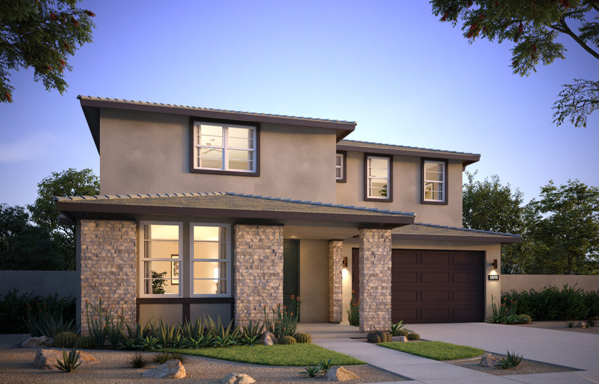 Centella, Estrella's newest neighborhood, will feature five floor plans designed by the New Home Co. specifically for Estrella.