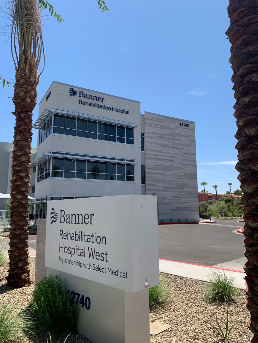 Banner Rehabilitation Hospital West opened Sept. 9 near Thunderbird Road and Loop 101.
