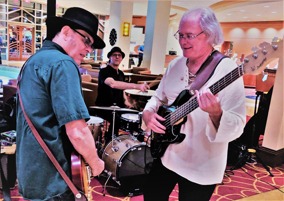 Patrick Veit, Michael Caruso and Robert Lowman will perform as The Hallelujah Blues Band Sept. 19 in Peoria.