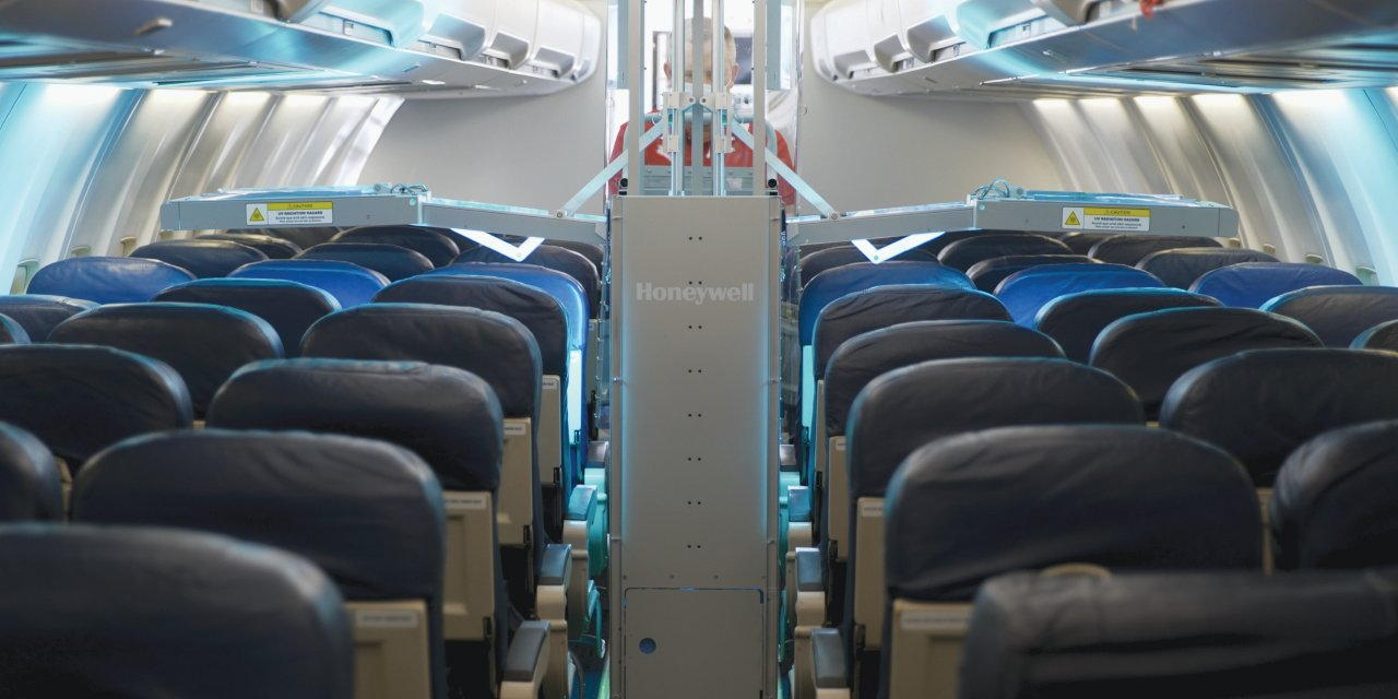 Fast, affordable UV light systems will be used on many airplane cabin surfaces. [Submitted photo]