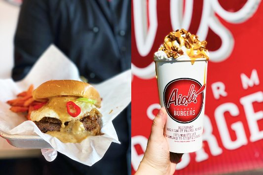 First-place winners in Aioli Gourmet Burgers and Alice Cooper's Solid Rock Teen Centers' Burger & Shake Creation Contest will have their idea featured on the restaurant's November menu.