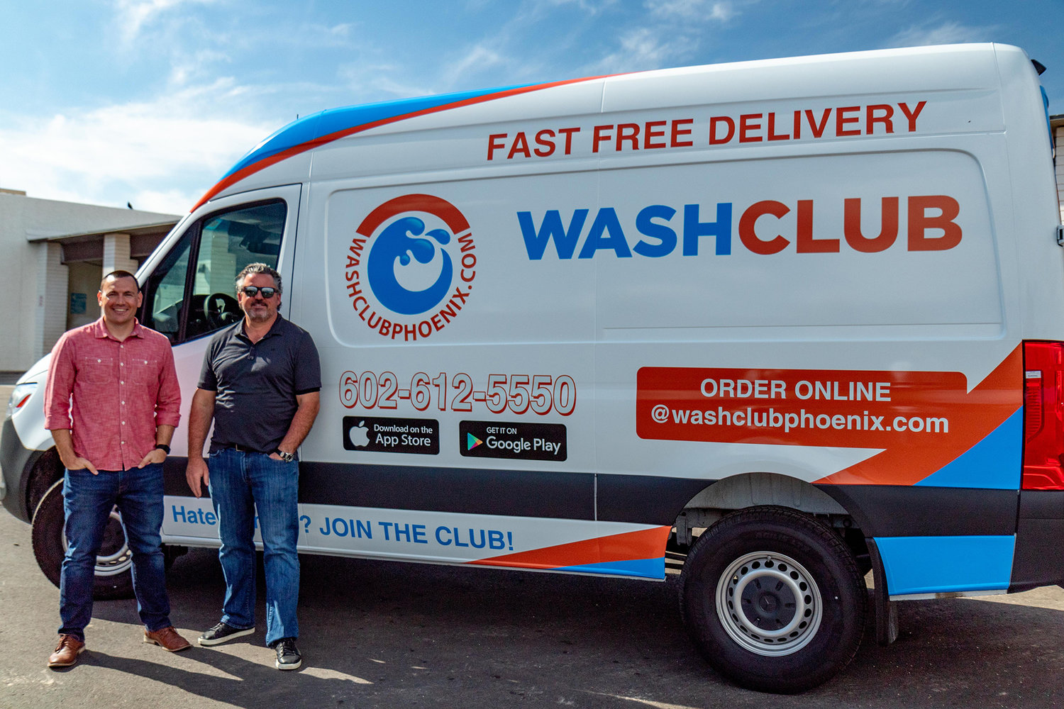 WashClub Phoenix, a national app-based laundry service that launched in the Valley in the spring, is now available in Surprise and the Sun Cities.