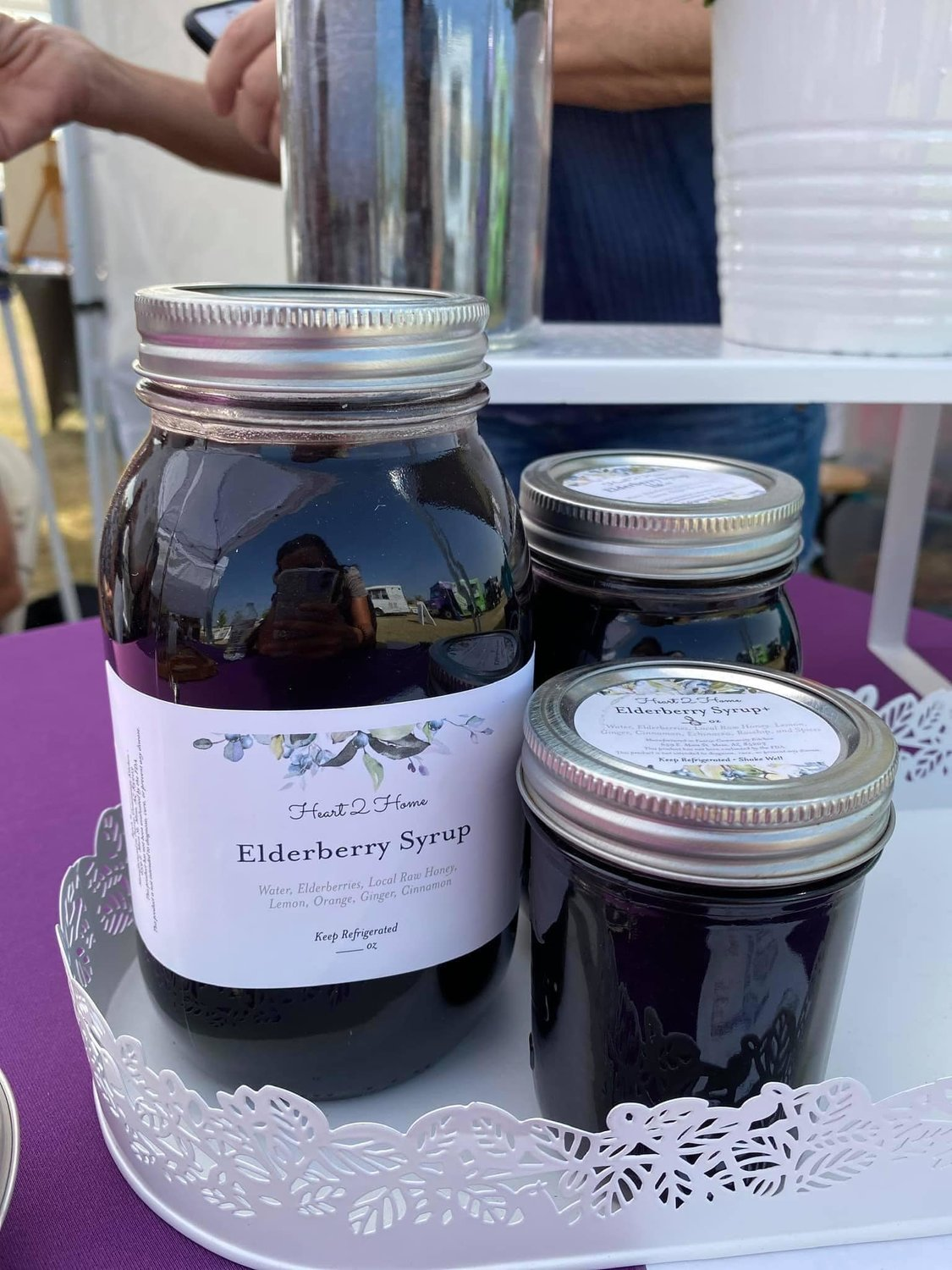 Heart 2 Home - Elderberry of Avondale offers a variety of elderberry products, including syrups.