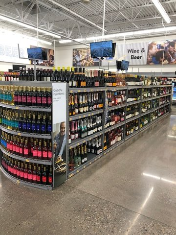The Apache Junction Walmart has and expanded beer and wine section with the addition of local and craft beers.