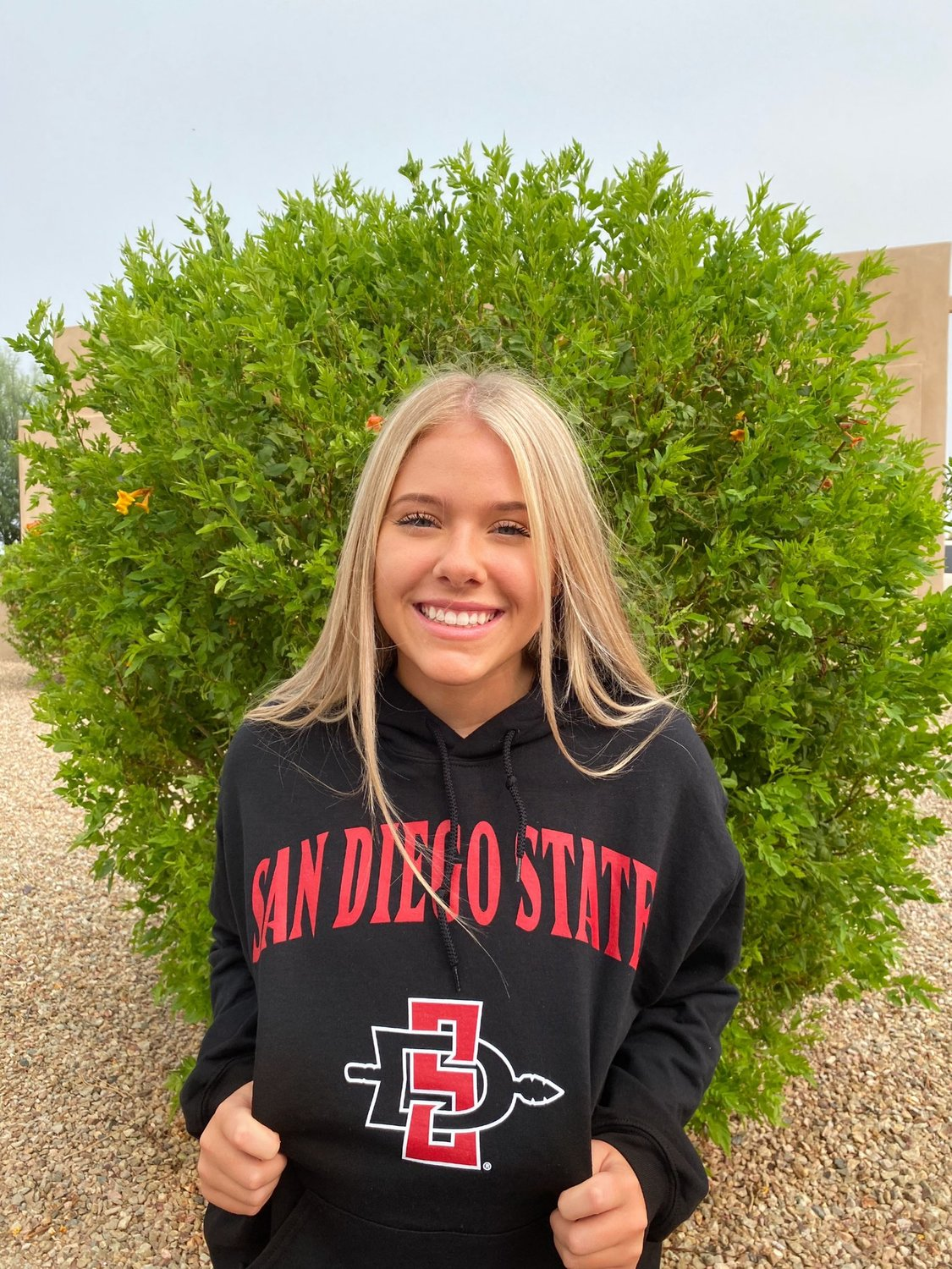 Deer Valley senior libero Carsyn Schuch verbally committed to play volleyball at San Diego State University in September.