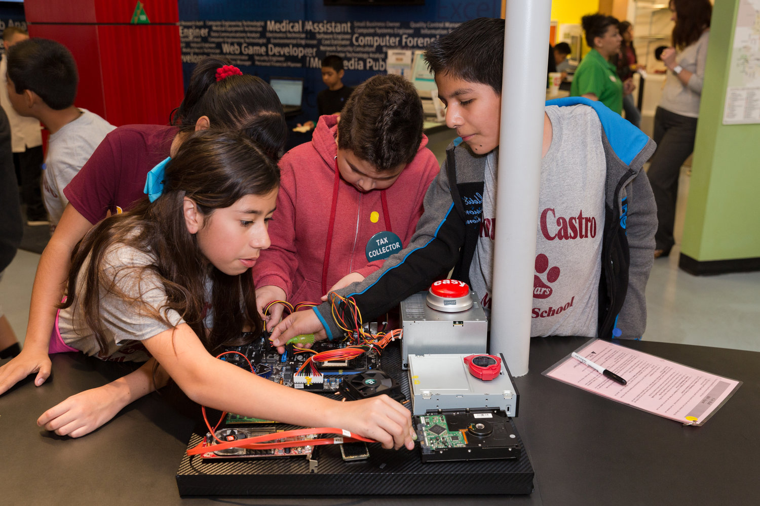 A view of the hands-on education JA Biztown provides to students across the Grand Canyon State.