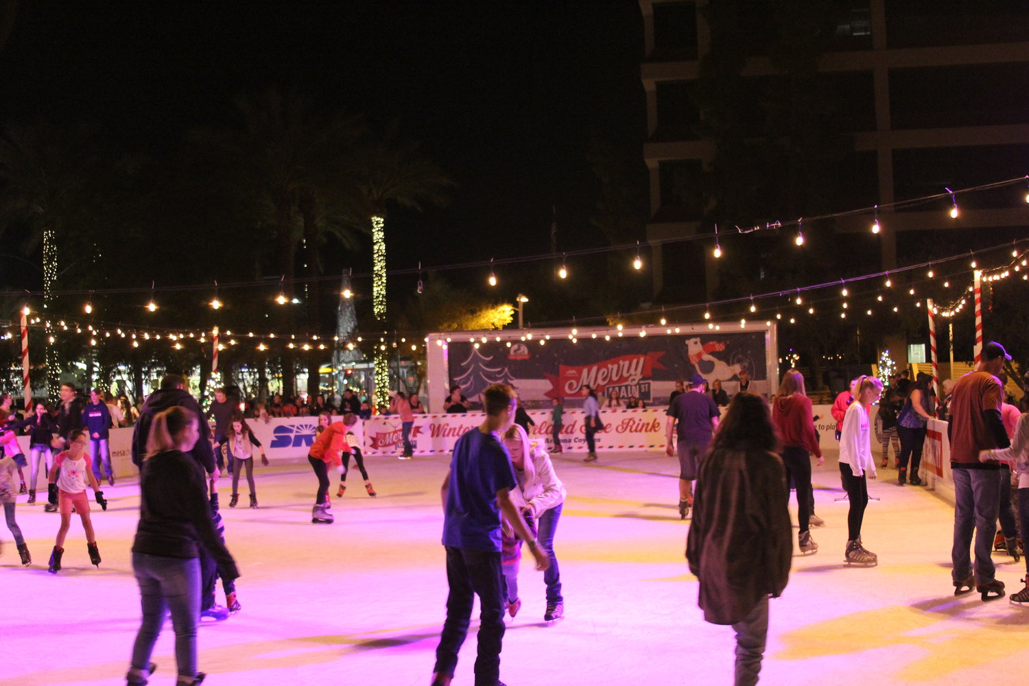 Merry Main Street will again feature the Winter Wonderland Ice Rink with more than 5,000 square feet that will attract skaters taking to the ice under the stars.