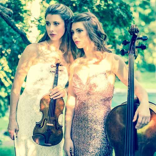 Duo Parnas is the collaboration of two sisters, violinist Madalyn Parnas and cellist Cicely Parnas.