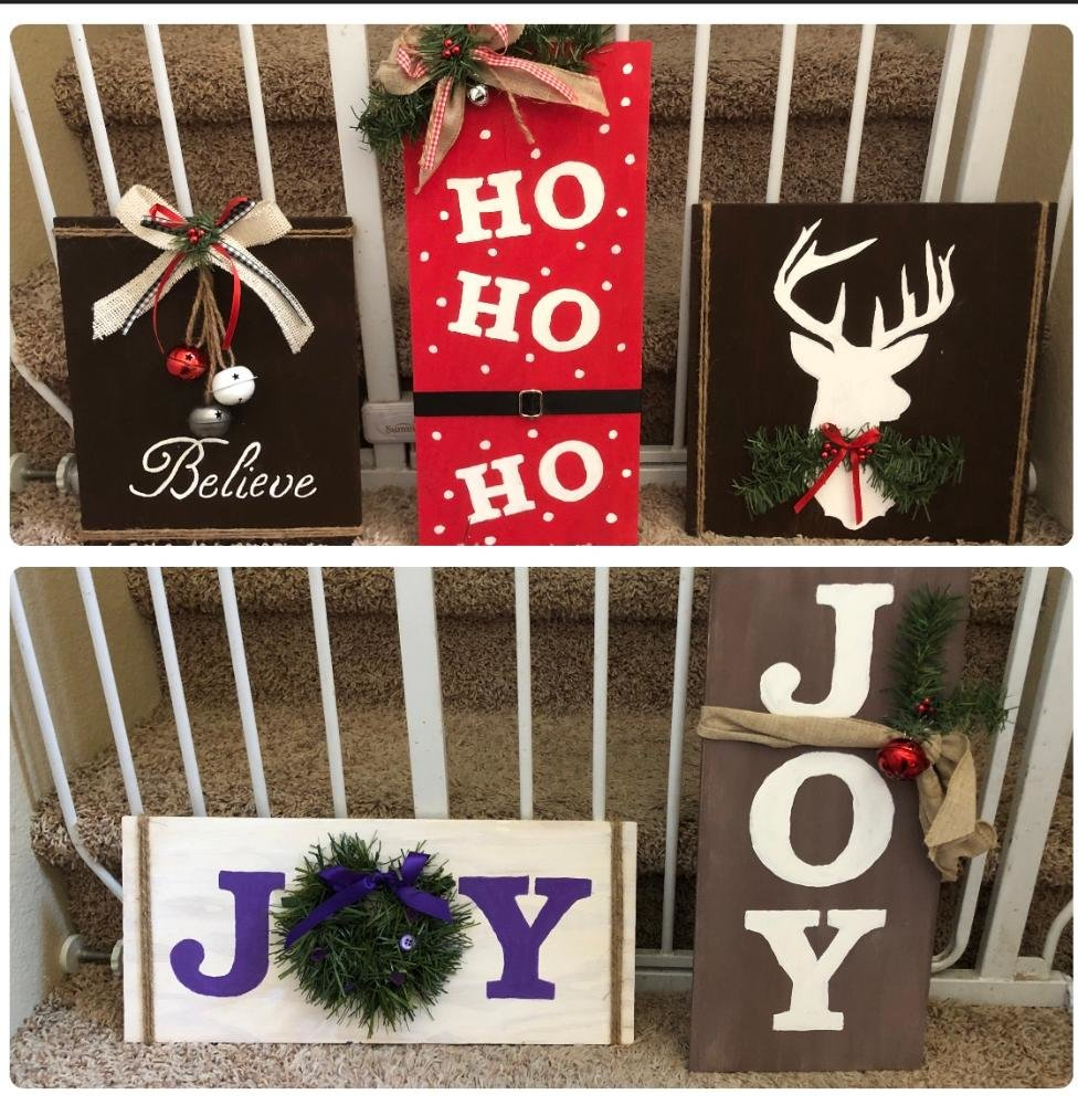 Ground Floor Artist in Surprise has one more class on making Wooden Christmas signs, from 6 to 8 p.m. Friday, Dec. 11.