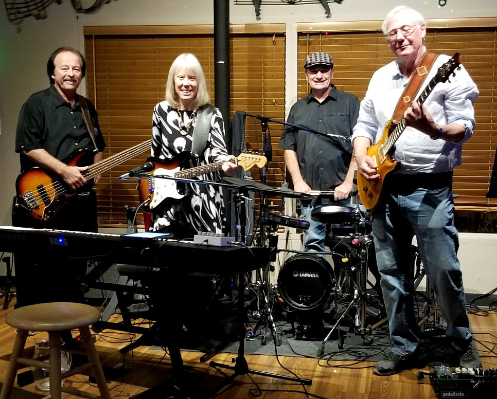 Cheri Adams, Dave Albert, Larry Hill and Dan Krohn as Cheri and the Pacemakers play in Peoria on Feb. 10.