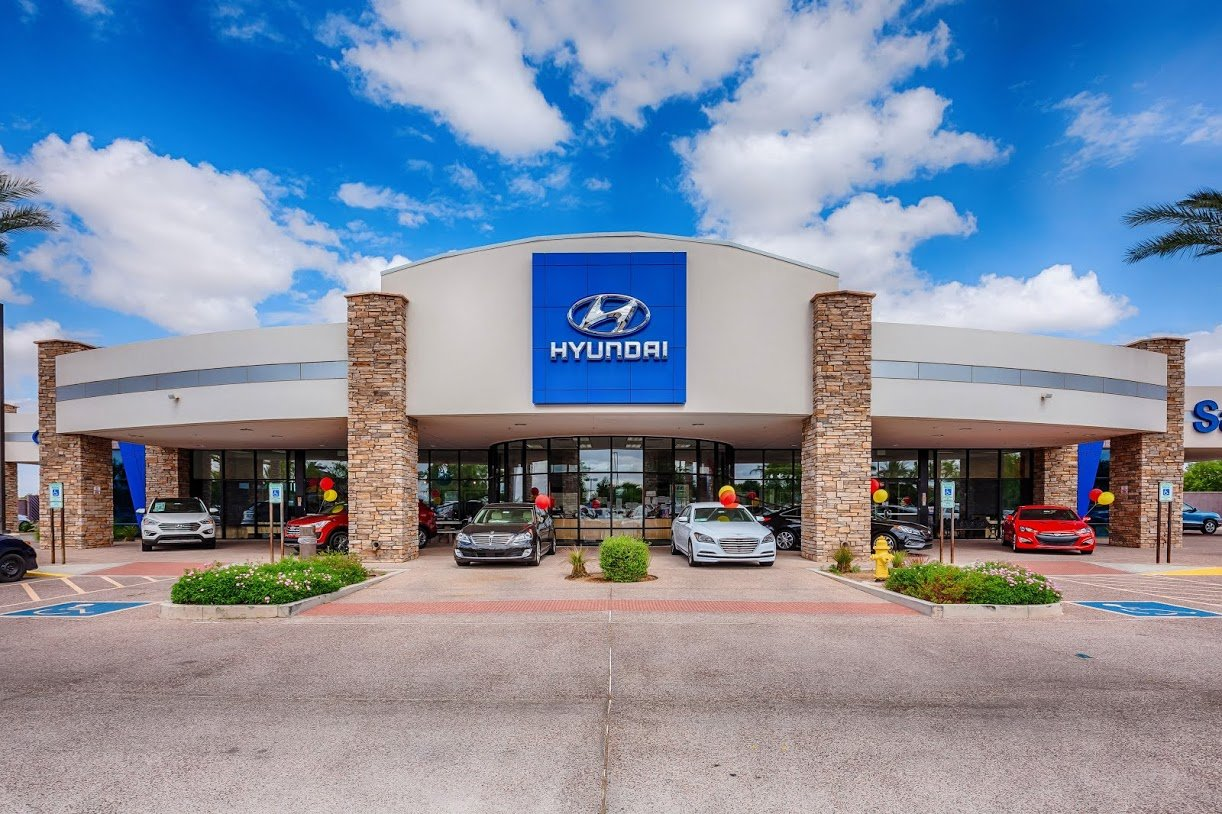 San Tan Hyundai of Gilbert is at 3252 S. Auto Way in Gilbert.
