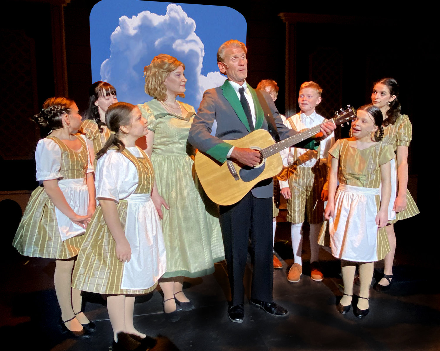 The Sound of Music will be performed March 26-April 17 at the Zao Theatre stage, 550 S. Ironwood Drive in Apache Junction.