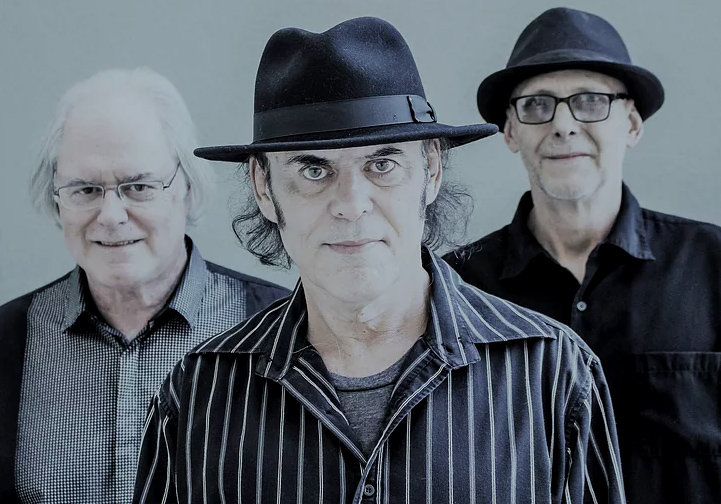 From left, Mike Caruso, Patrick Veit and Rob Lowman as The Hallelujah Blues Band will play Starlite Lounge April 11 in Glendale.