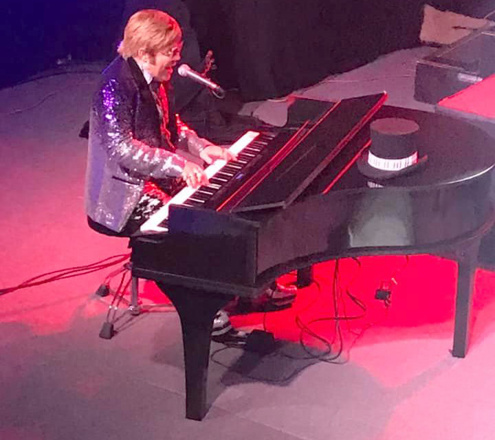 Jeff Burkett stars as Elton John in a tribute show coming to Peoria.