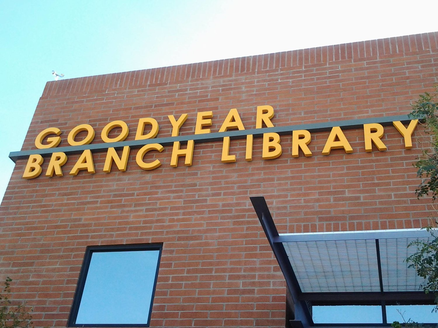 Goodyear Branch Library is in Suite C101 in the city's municipal complex at 14455 Van Buren St.