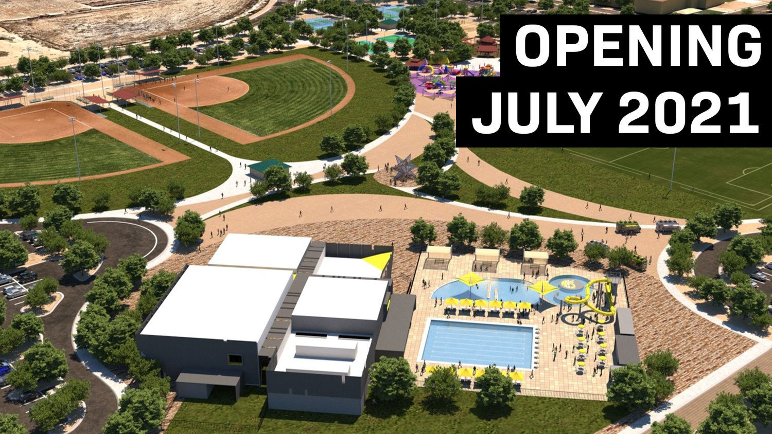 Passes for the new Goodyear Recreation Campus go on sale Saturday, May 1.