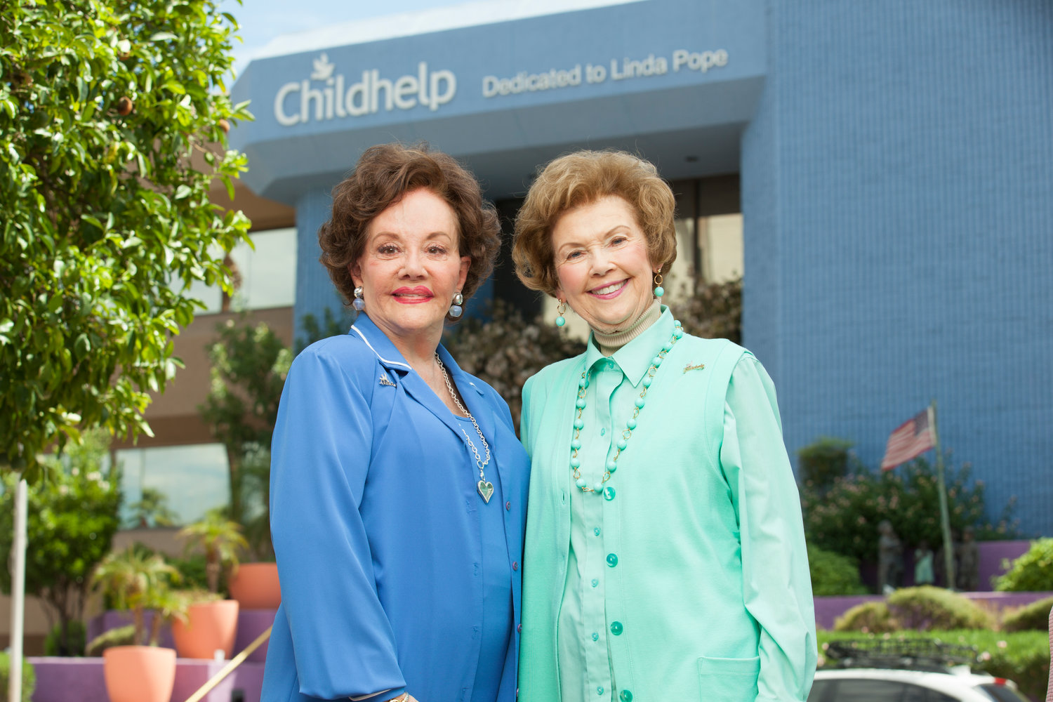 ChildHelp founders Sara O'Meara and Yvonne Fedderson