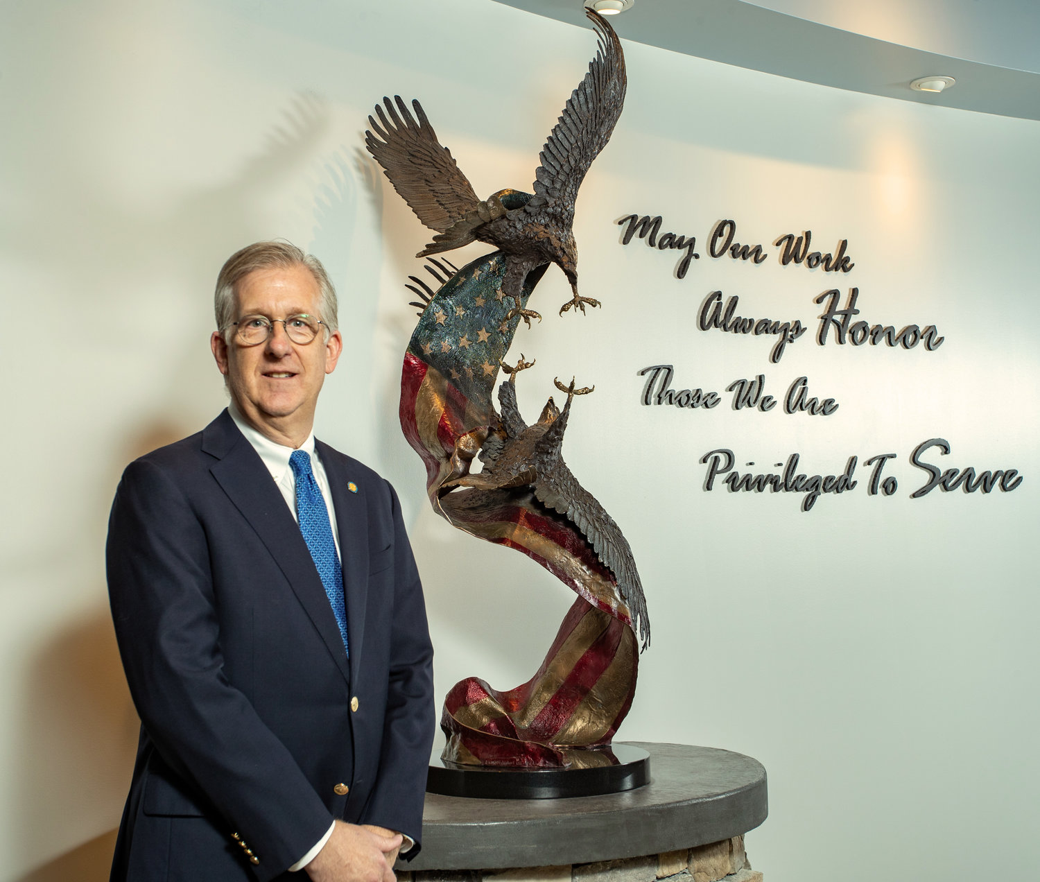 David J. McIntyre Jr. is TriWest Healthcare Alliance president and CEO. The organization recently was honored with the Employer Support of the Guard and Reserve's the Extraordinary Employer Support Award.
